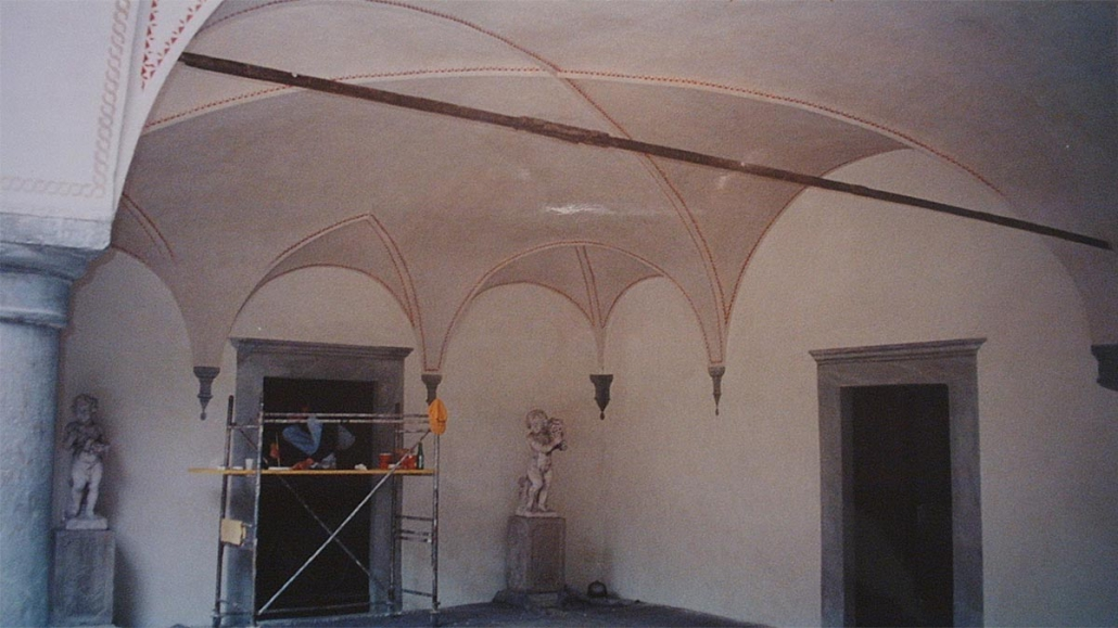 Restauro porticato