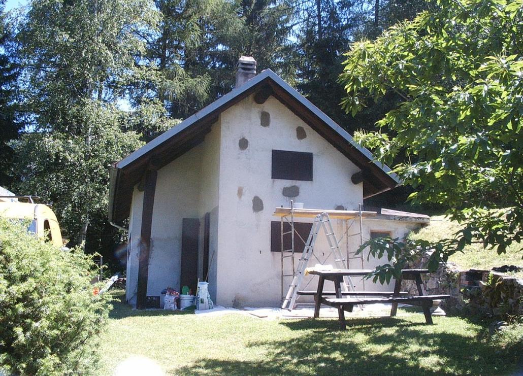 Ristrutturazione casa: muratura esterna