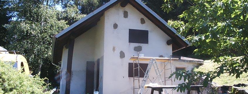 Ristrutturazioni muratura esterna